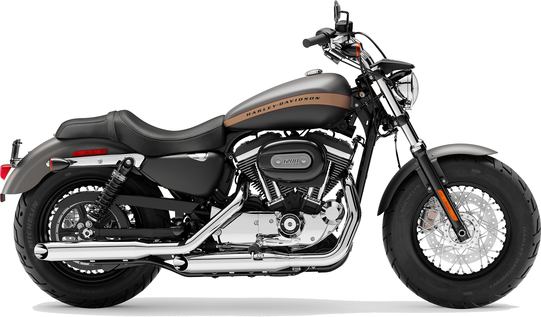 2019 Harley-Davidson H-D Sportster® 1200 Custom Industrial Grey Denim Black Denim
