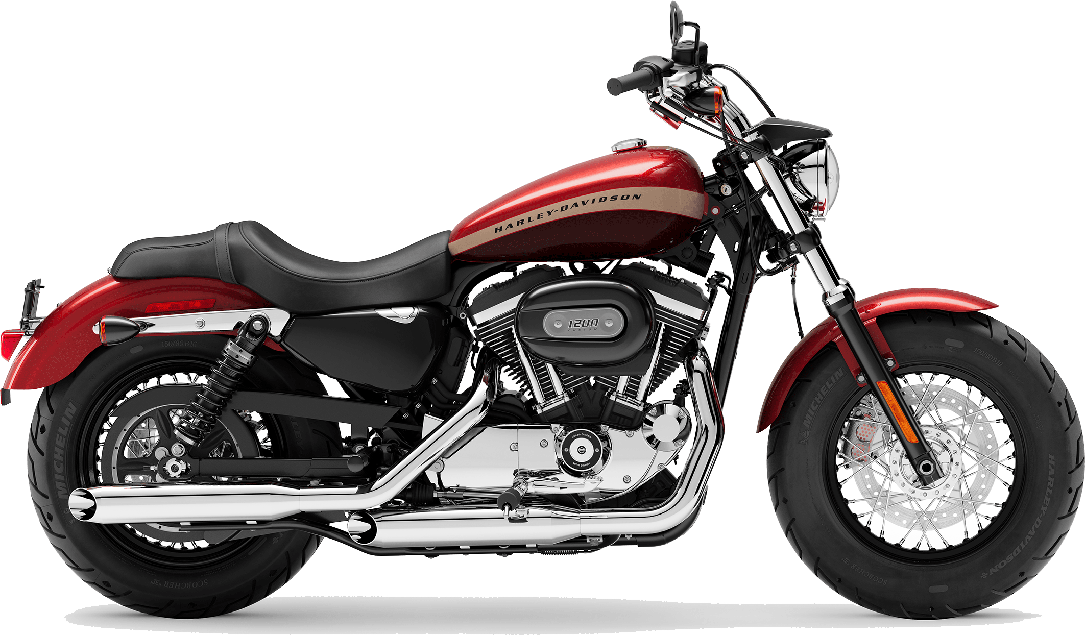 2019 Harley-Davidson H-D Sportster® 1200 Custom Wicked Red Twisted Cherry