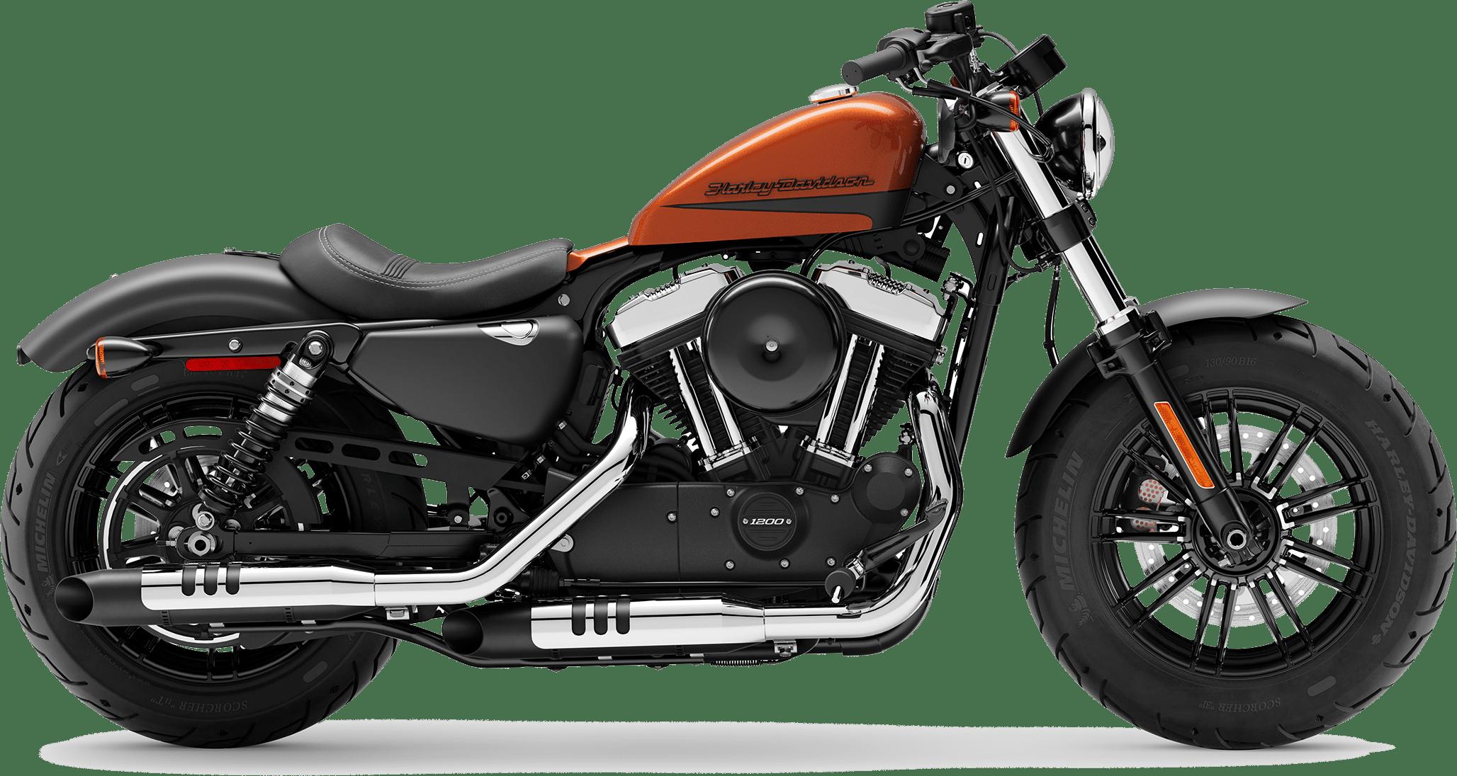 2019 Harley-Davidson H-D Sportster® Forty-Eight Scorched Orange Black Denim
