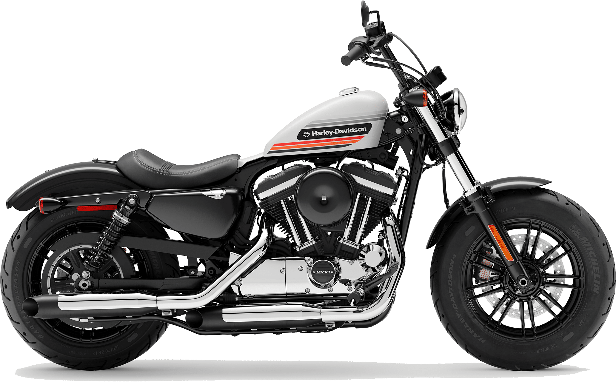 2019 Harley-Davidson H-D Sportster® Forty-Eight® Special Billiard White