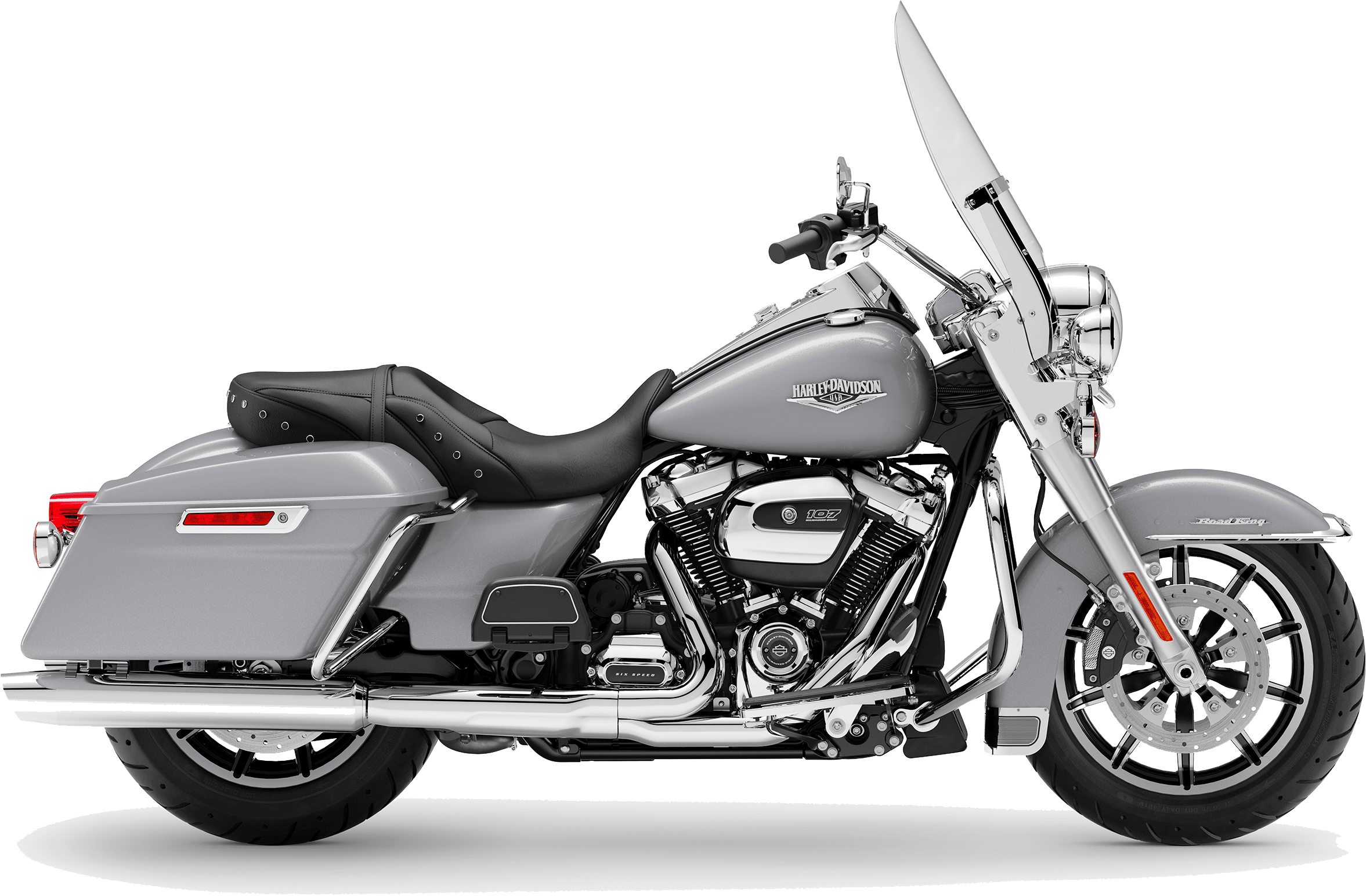2019 Harley-Davidson H-D Touring Road King Barracuda Silver