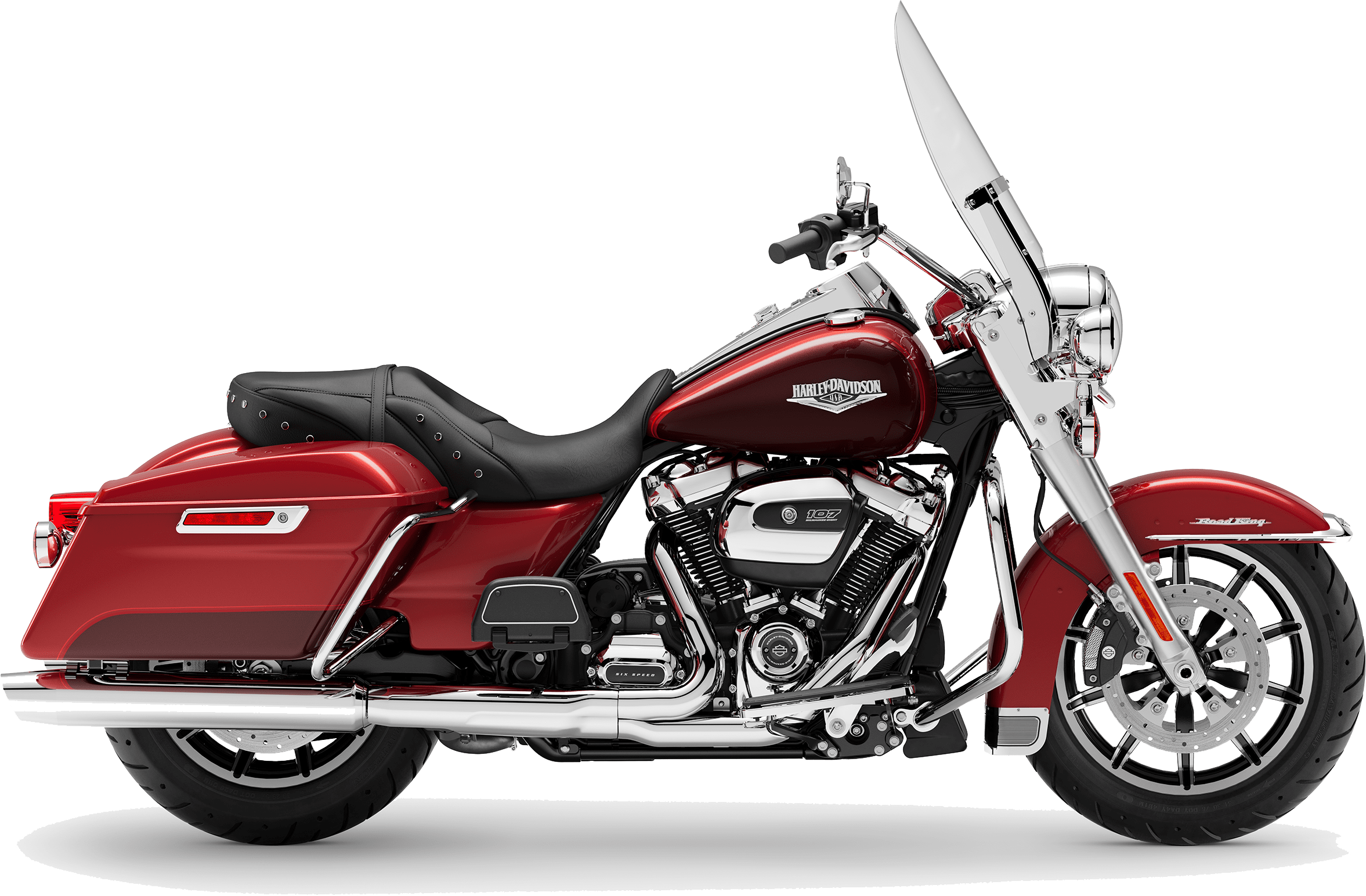 2019 Harley-Davidson H-D Touring Road King Wicked Red Twisted Cherry