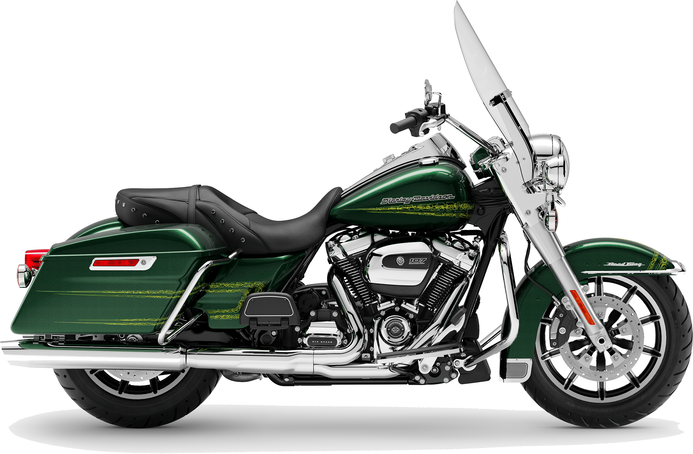 2019 Harley-Davidson H-D Touring Road King Kinetic Green