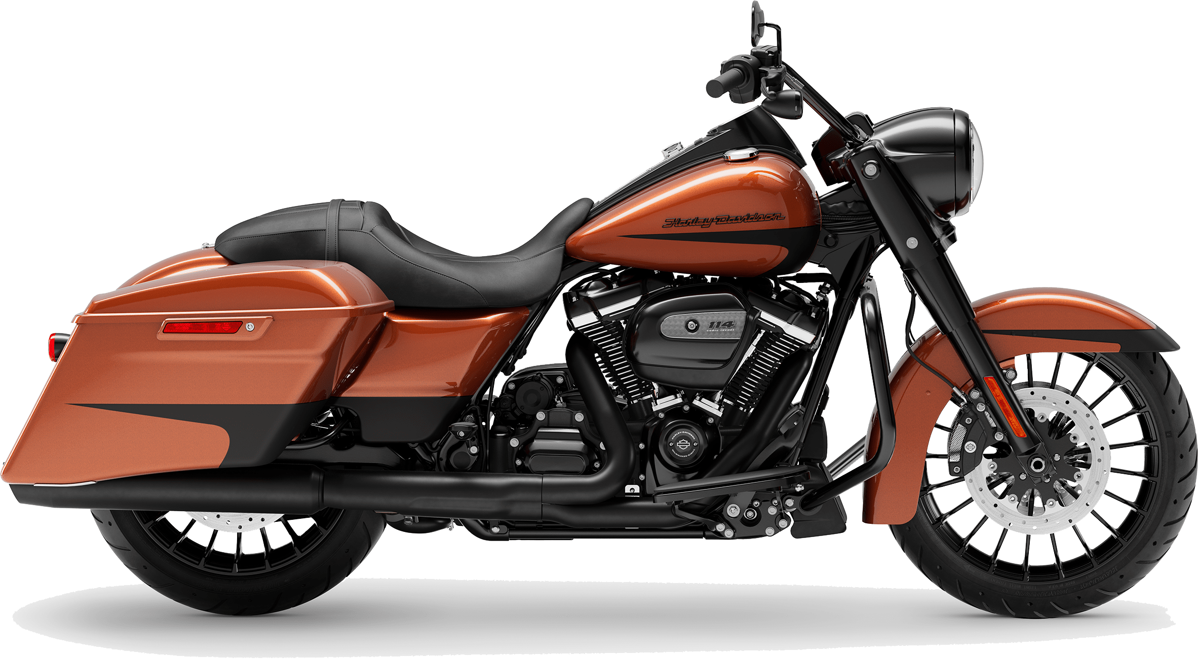 2019 Harley-Davidson H-D Touring Road King Special Scorched Orange Black Denim