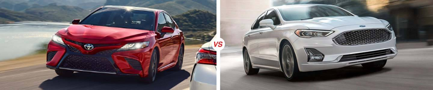 2019 Camry vs. 2019 Fusion in Sebring, Florida