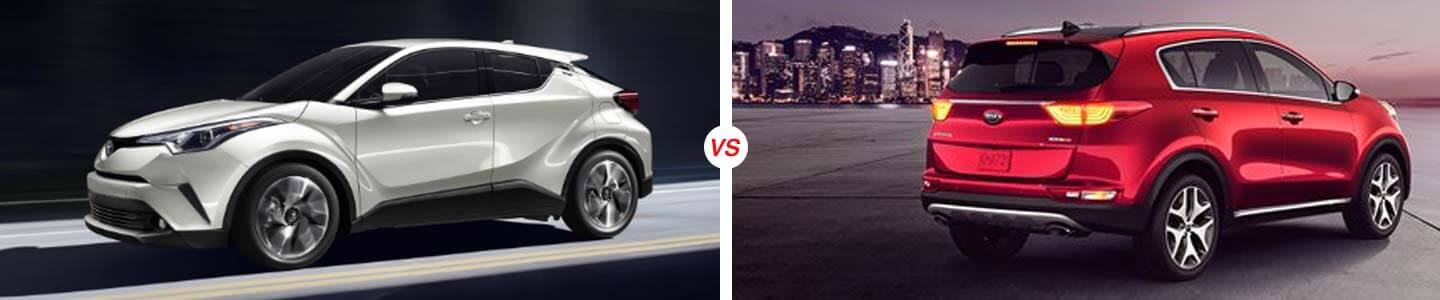 2019 C-HR vs. 2019 Kia Sportage in Sebring, Florida