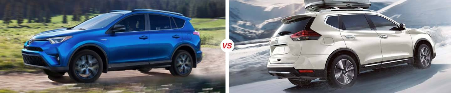 2018 Toyota RAV4 vs. 2018 Nissan Rogue in Sebring, Florida