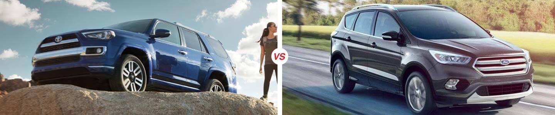 2019 Toyota 4Runner vs. 2019 Ford Escape in Sebring, FL