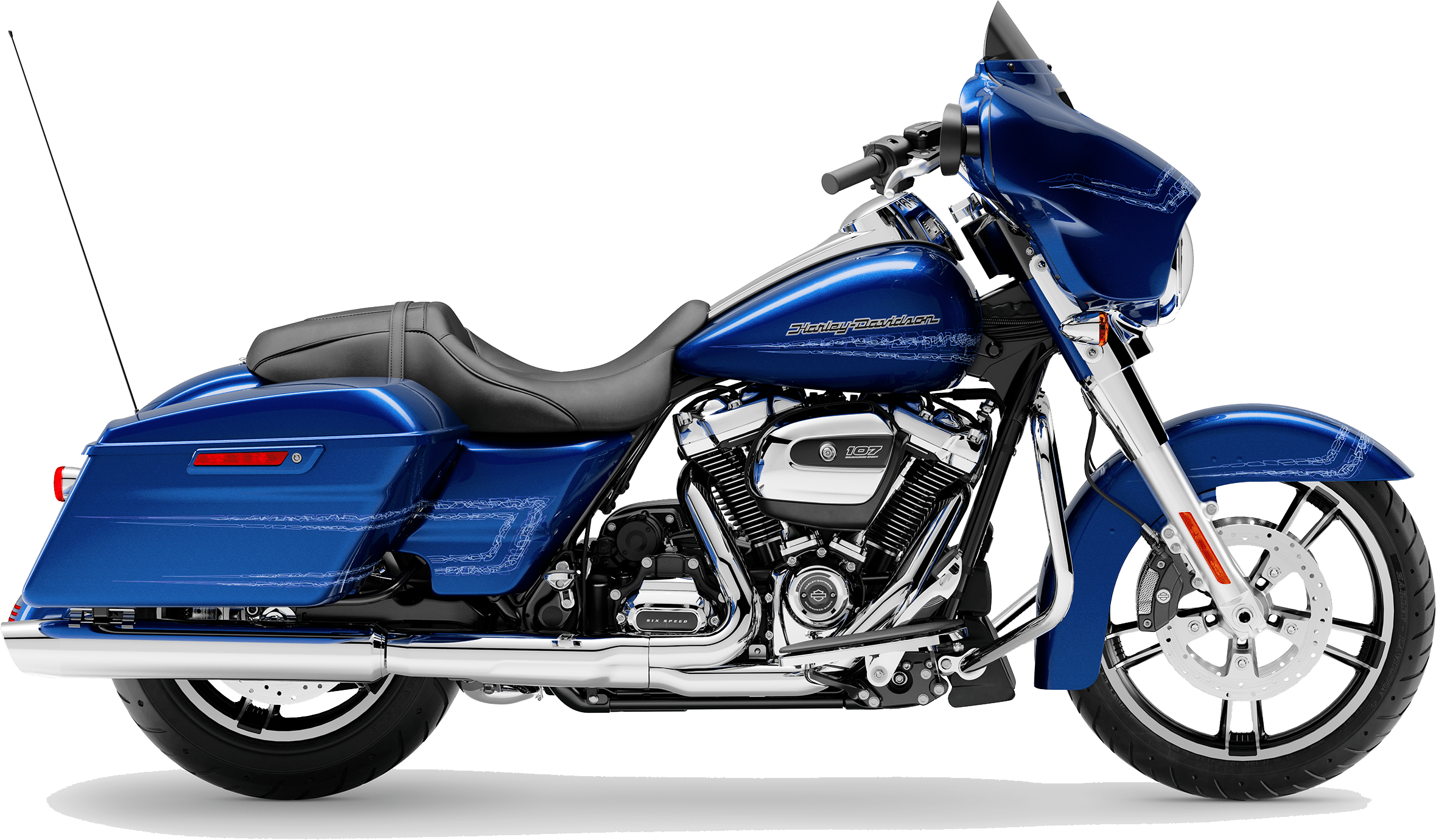 2019 Harley-Davidson H-D Touring Street Glide Blue Max