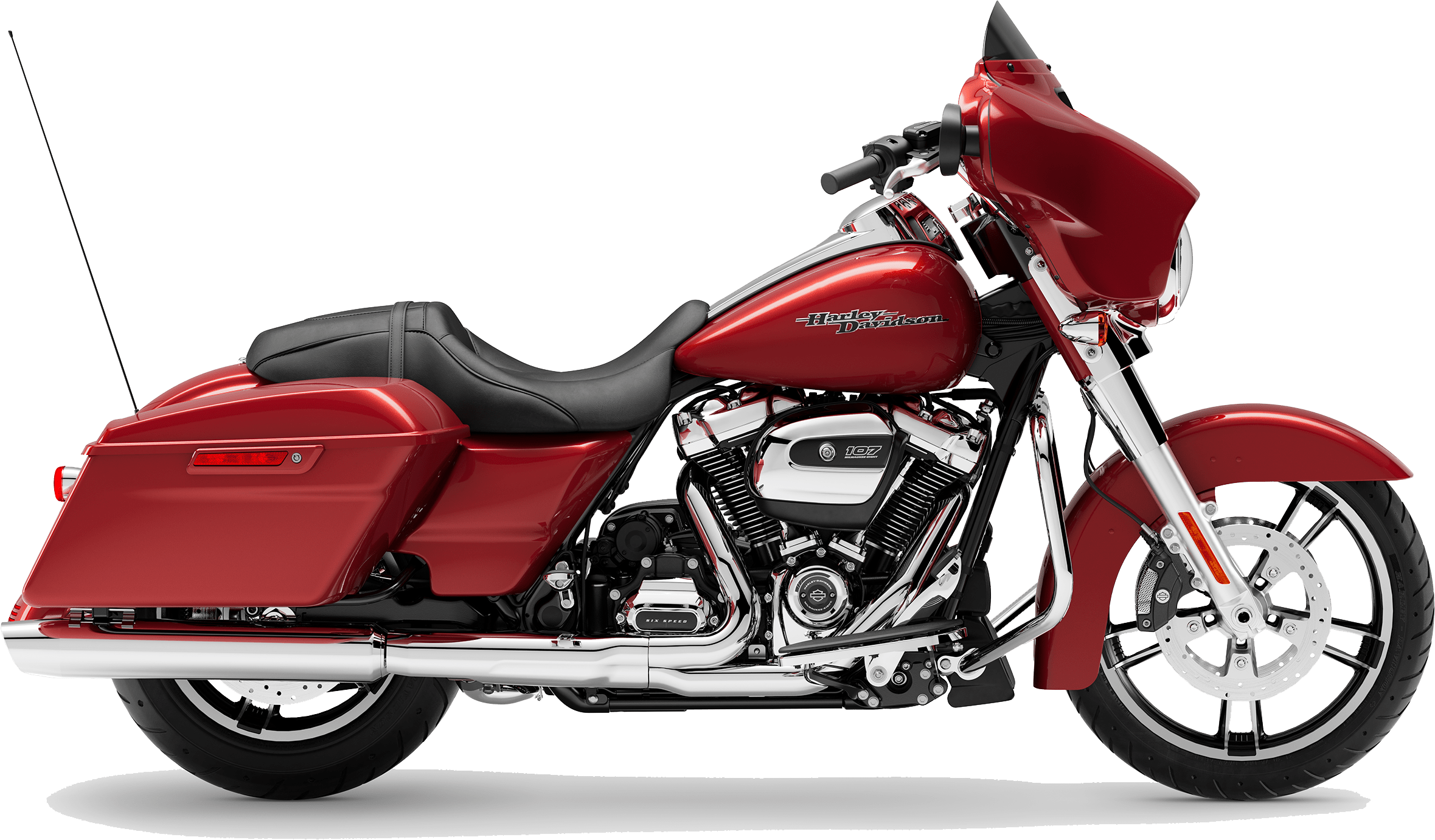 2019 Harley-Davidson H-D Touring Street Glide Wicked Red