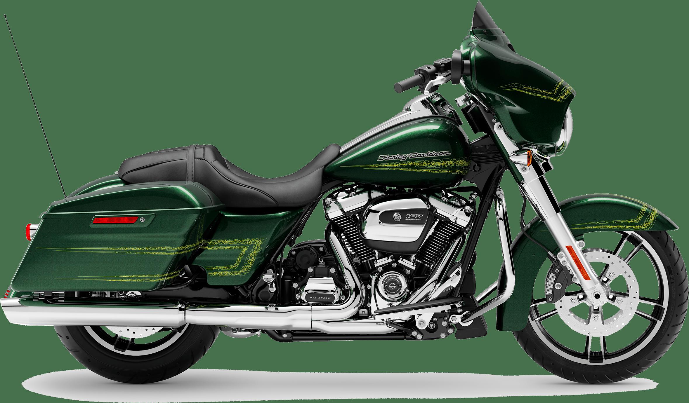 2019 Harley-Davidson H-D Touring Street Glide Kinetic Green