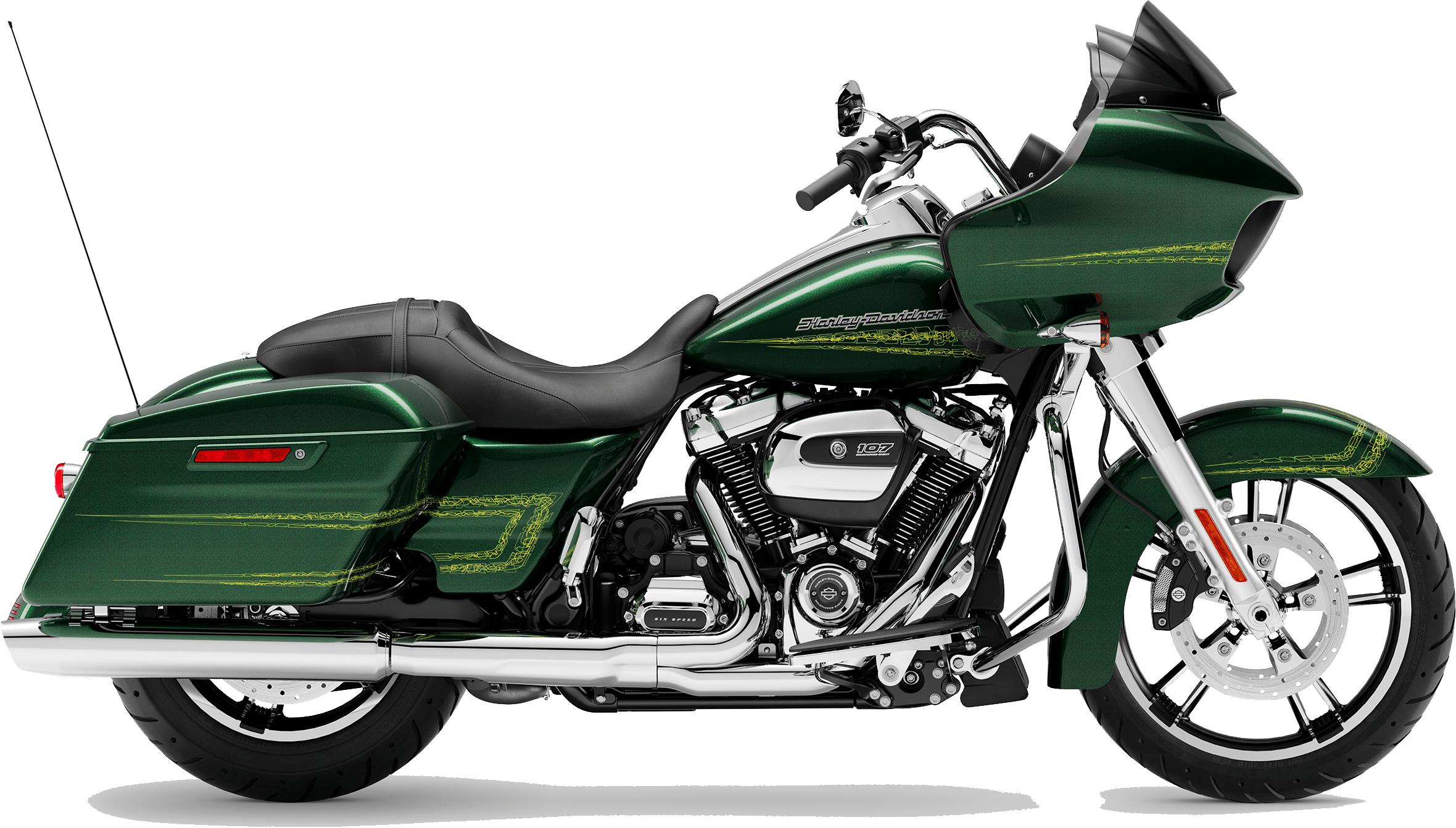 2019 Harley-Davidson H-D Touring Road Glide Kinetic Green