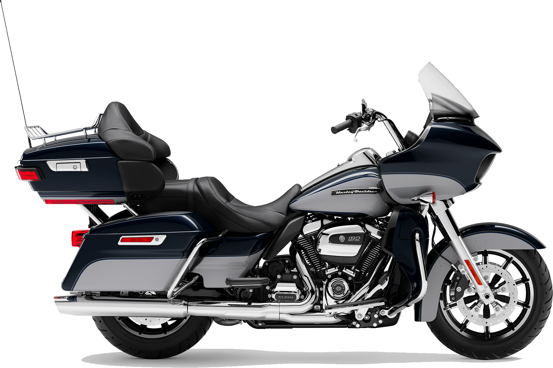 2019 Harley-Davidson H-D Touring Road Glide Ultra Midnight Blue Barracuda Silver