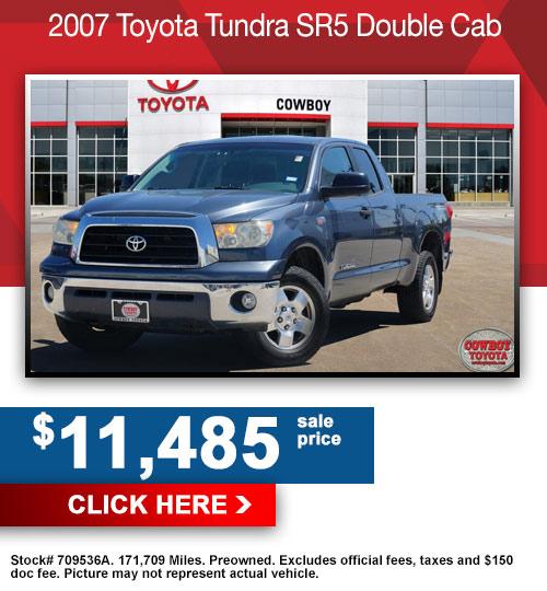 2007 Toyota Tundra SR5 Double Cab
