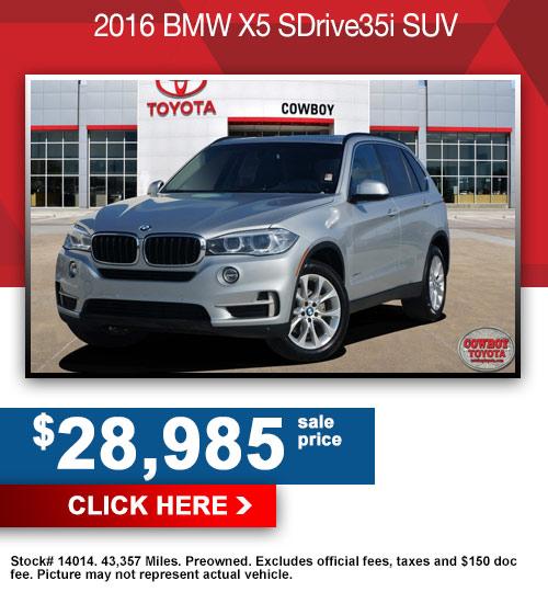 2016 BMW X5 SDrive35i SUV