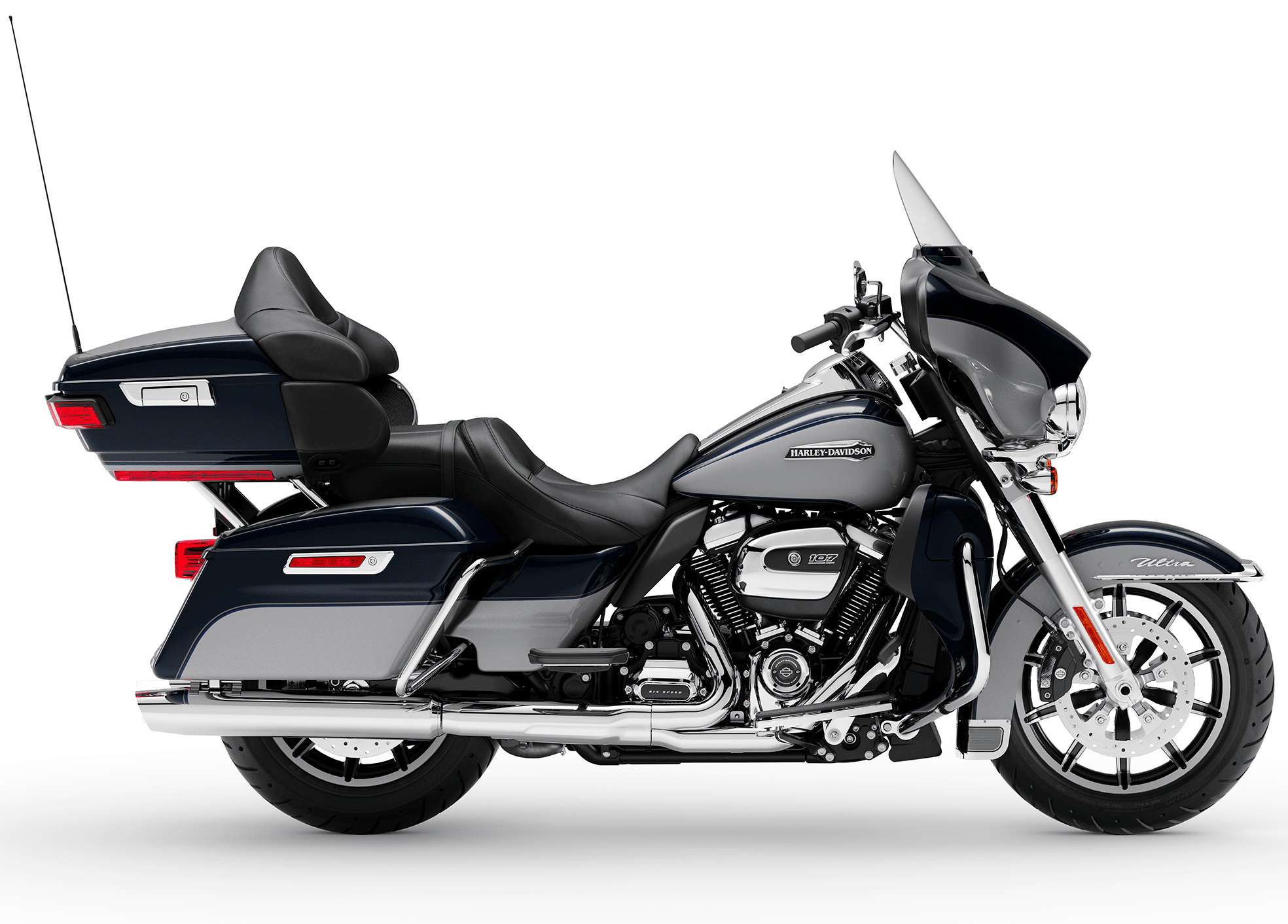 2019 Harley-Davidson H-D Touring Electra Glide Ultra Classic Midnight Blue Barracuda Silver