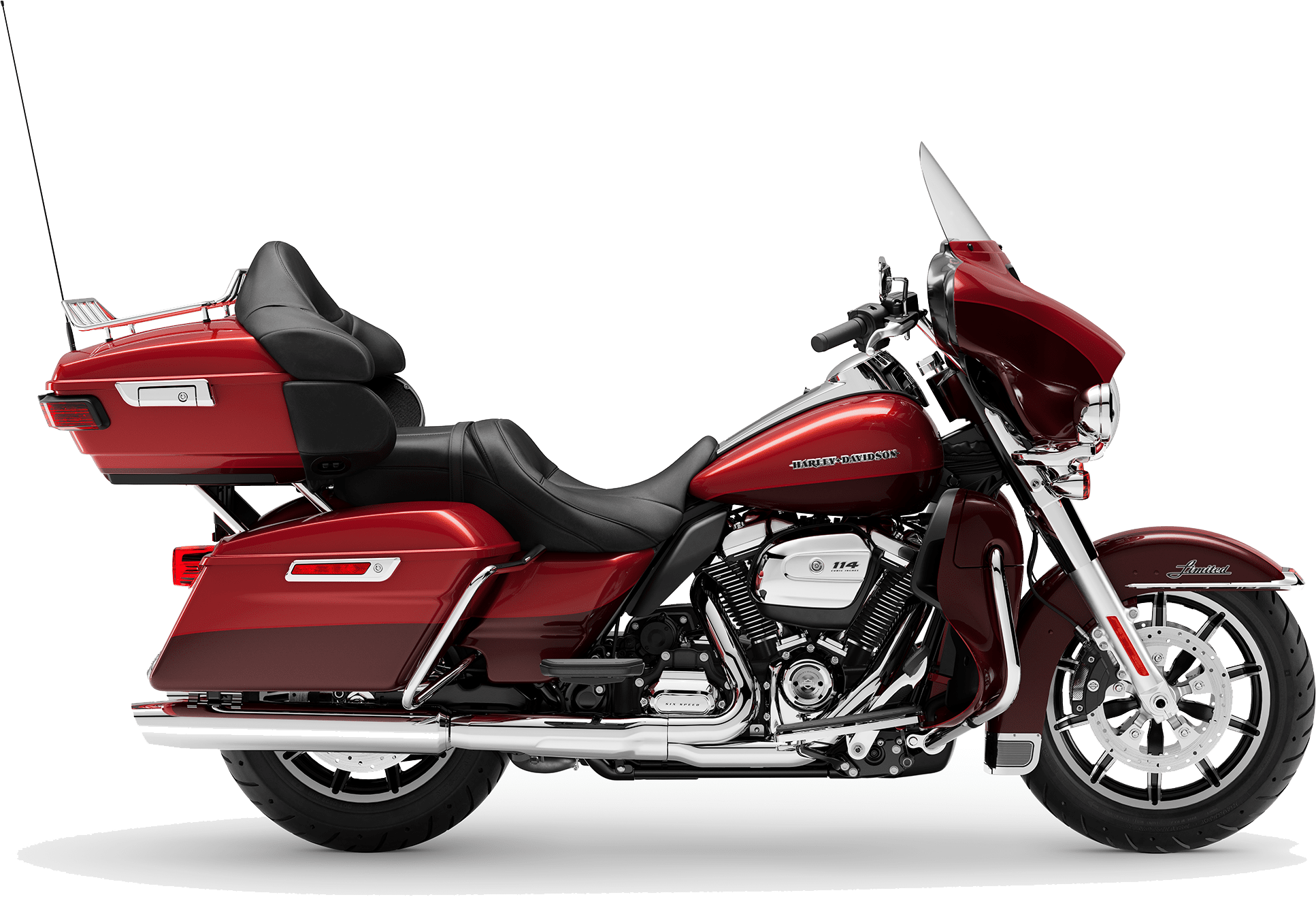 2019 Harley-Davidson H-D Touring Ultra Limited Wicked Red Twisted Cherry