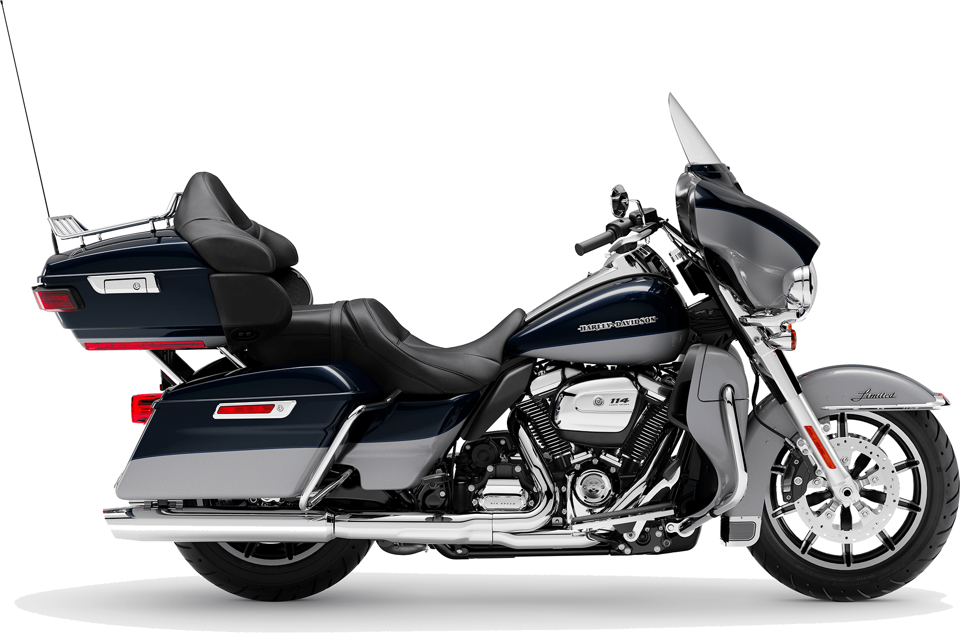 2019 Harley-Davidson H-D Touring Ultra Limited Low Midnight Blue Barracuda Silver