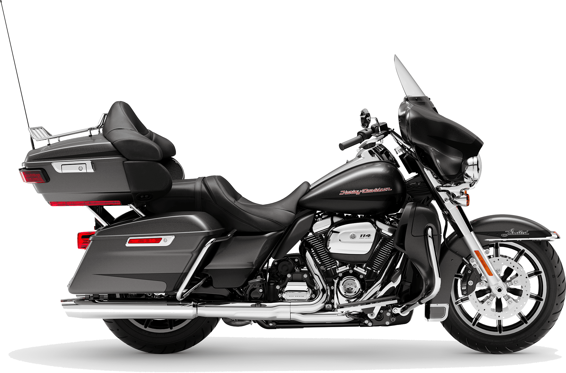 2019 Harley-Davidson H-D Touring Road Ultra Limited Low Silver Flux Black Fuse