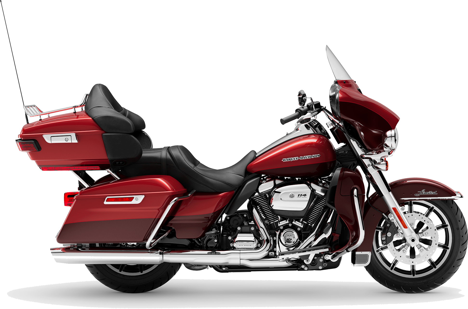 2019 Harley-Davidson H-D Touring Ultra Limited Low Wicked Red Twisted Cherry