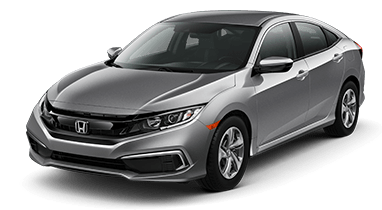 2019 Honda Civic in Steel Metallic at Diamond Valley Honda