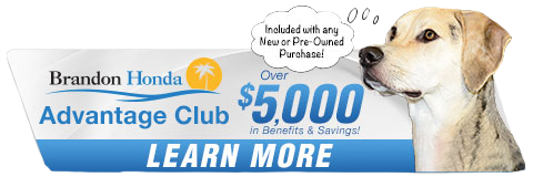 brandon honda advantage club over five thousand dollars in benefits and savings learn more here