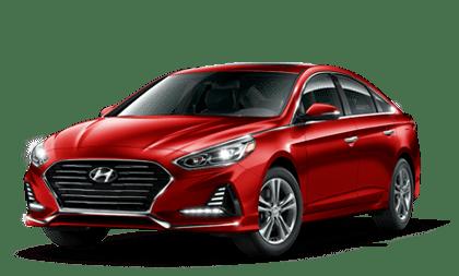 Hyundai Sonata Hybrid Red