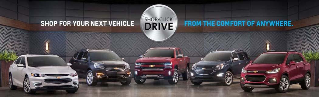 shop click drive banner