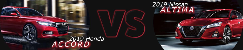 Tennesson Nissan 2019 Honda Accord VS 2019 Nissan Altima