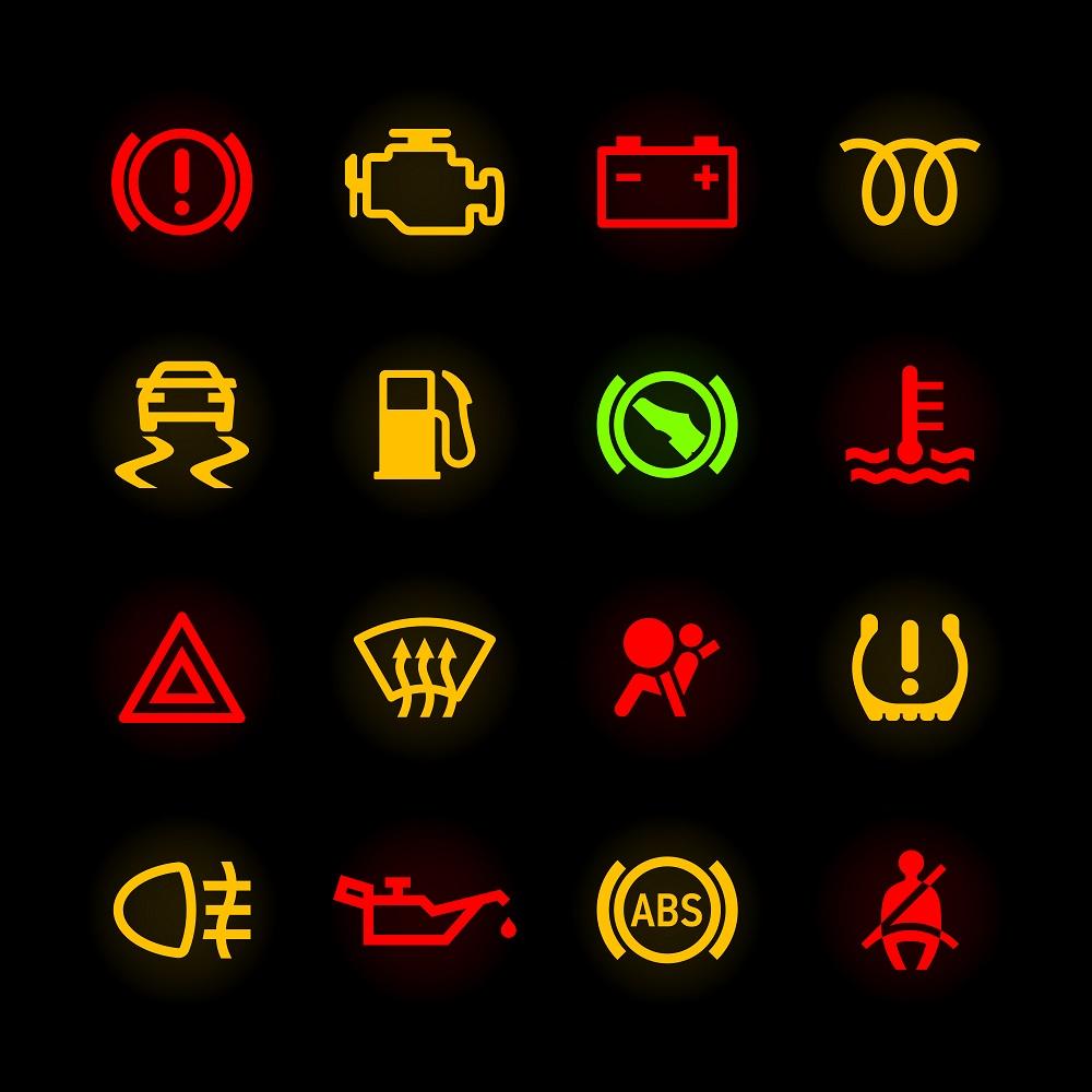 nissan versa 2015 indicator lights