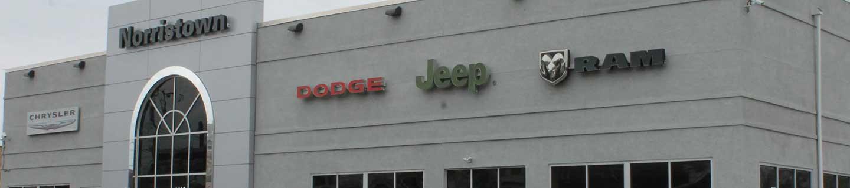norristown chrysler dodge jeep ram dealership photo