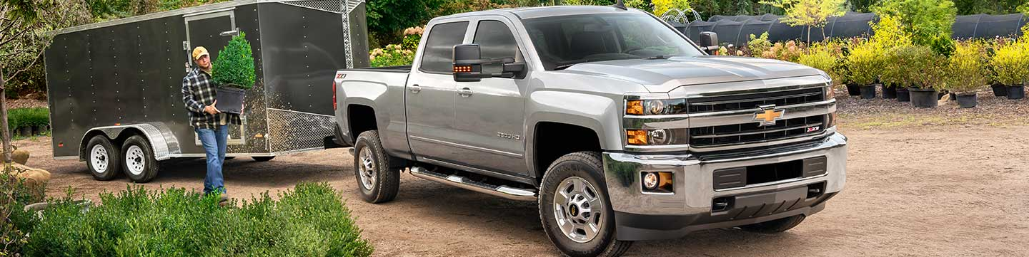 Stock Photo of 2018 Chevrolet Silverado 2500
