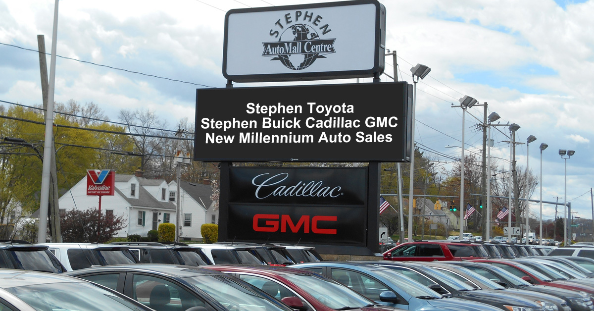 Stephen AutoMall Centre - Serving Bristol, Connecticut