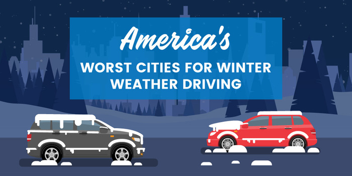 Worst Cities for Winter Driving in the United States