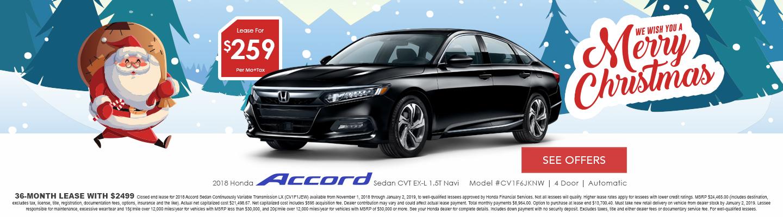Honda Accord lease deals in Hemet CA