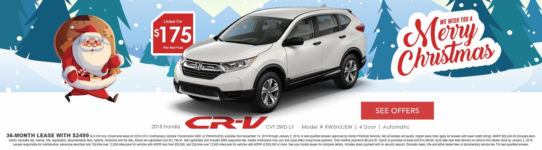 Honda CR-V lease deals in Hemet CA