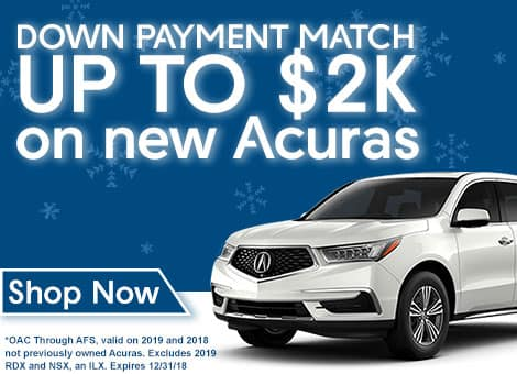 Acura of Tempe Down Payment Match