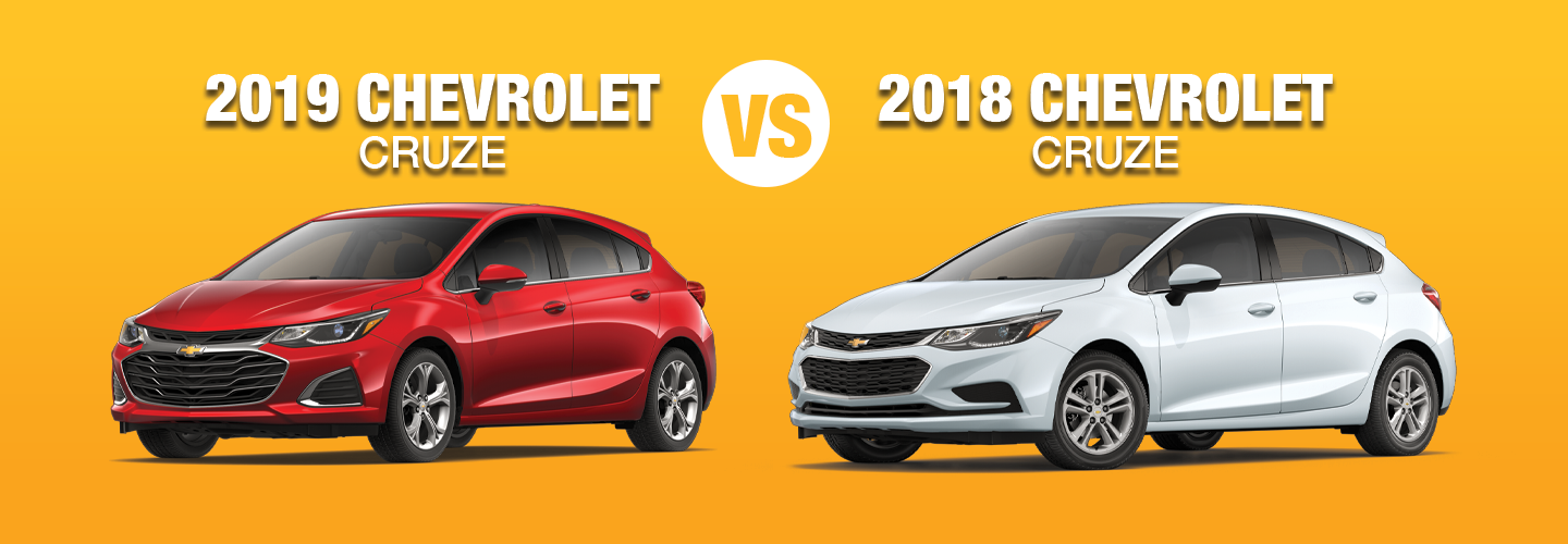 Difference Between 2019 Chevrolet Cruze Vs 2018 Chevrolet Cruze