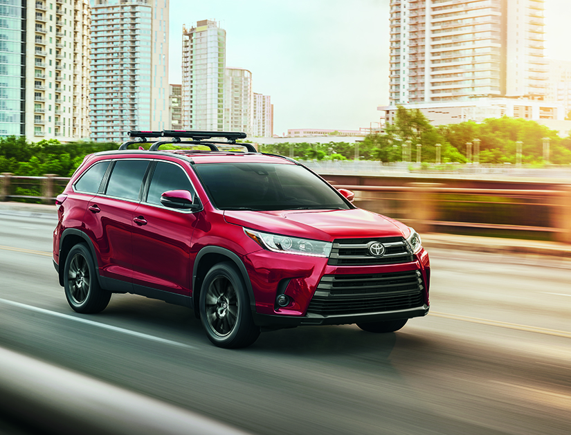 Trim Levels Offered in the 2019 Toyota Highlander