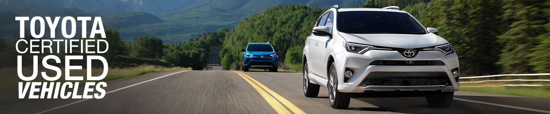 Toyota Certified Used Vehicles (TCUV) Program in Ventura, CA