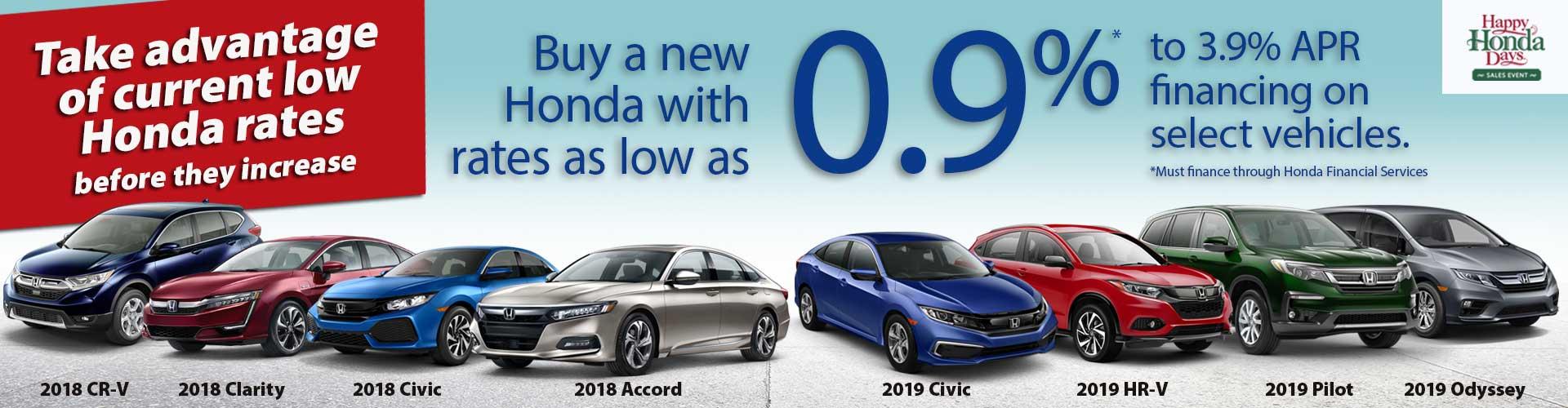 Honda Financing Rates >> Honda Finance Offers