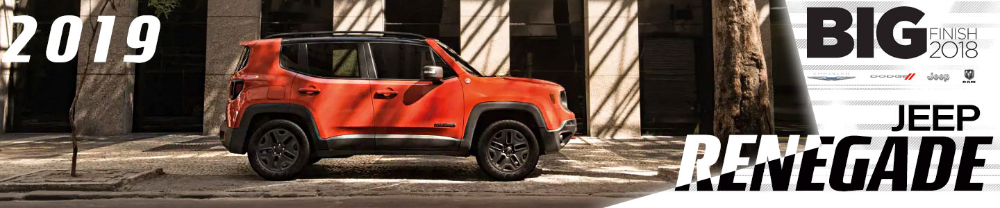 2019 Jeep Renegade For Sale Near Chattanooga, GA at Mtn. View CDJR