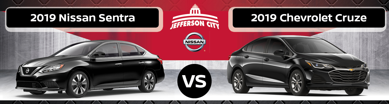Chevy Dealer Jefferson City Mo >> 2019 Nissan Sentra Vs 2019 Chevy Cruze Nissan Of