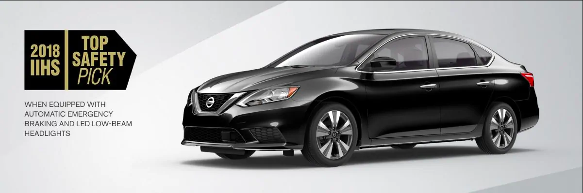 Nissan Sentra IIHS Top Safety Pick