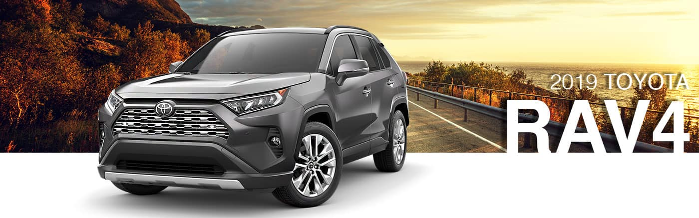 2019 Black Exterior RAV4 On Road at Toyota of Bastrop