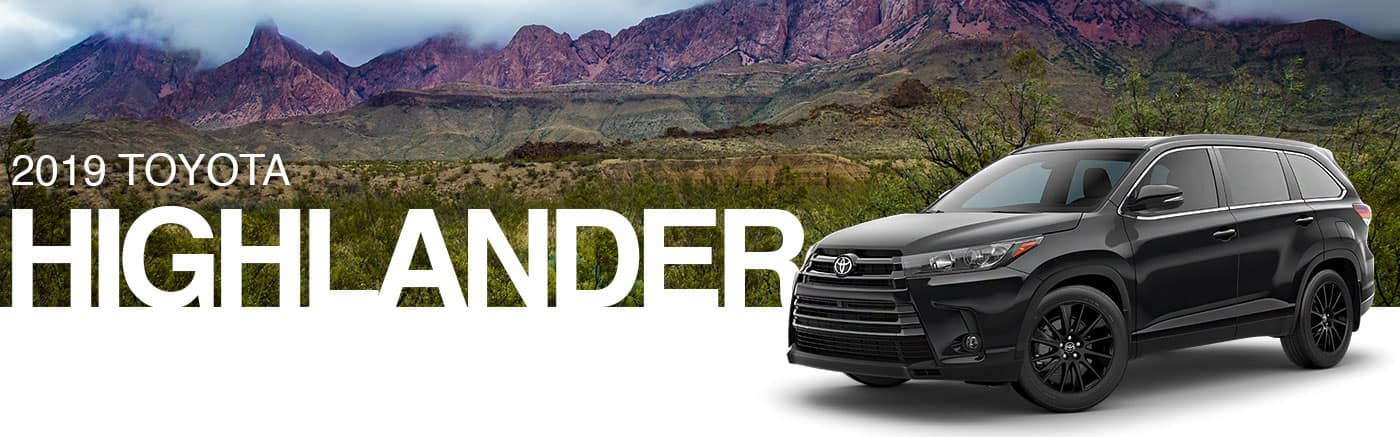 2019 Gray Exterior highlander On Road at Brownsville Toyota