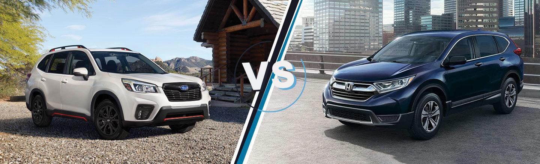 2018 Honda Pilot, CR-V And HR-V Could Get Hybrid Versions >> New Cr V Advantages Over Subaru Forester By Jefferson City