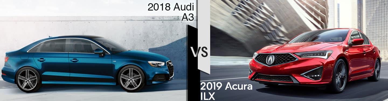 Indianapolis Audi Dealers 2019 Acura ILX vs 2018 Audi A3