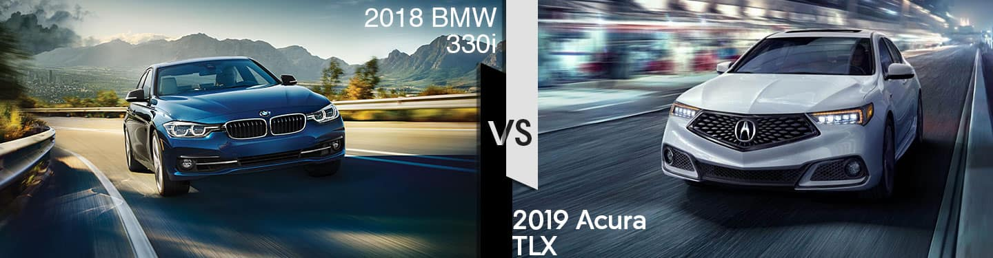 Indianapolis Acura Dealers 2019 Acura TLX vs 2018 BMW 330i