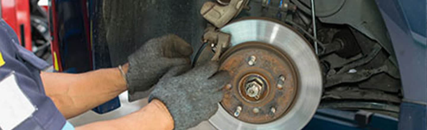 Brake Service at Rick Hill Nissan
